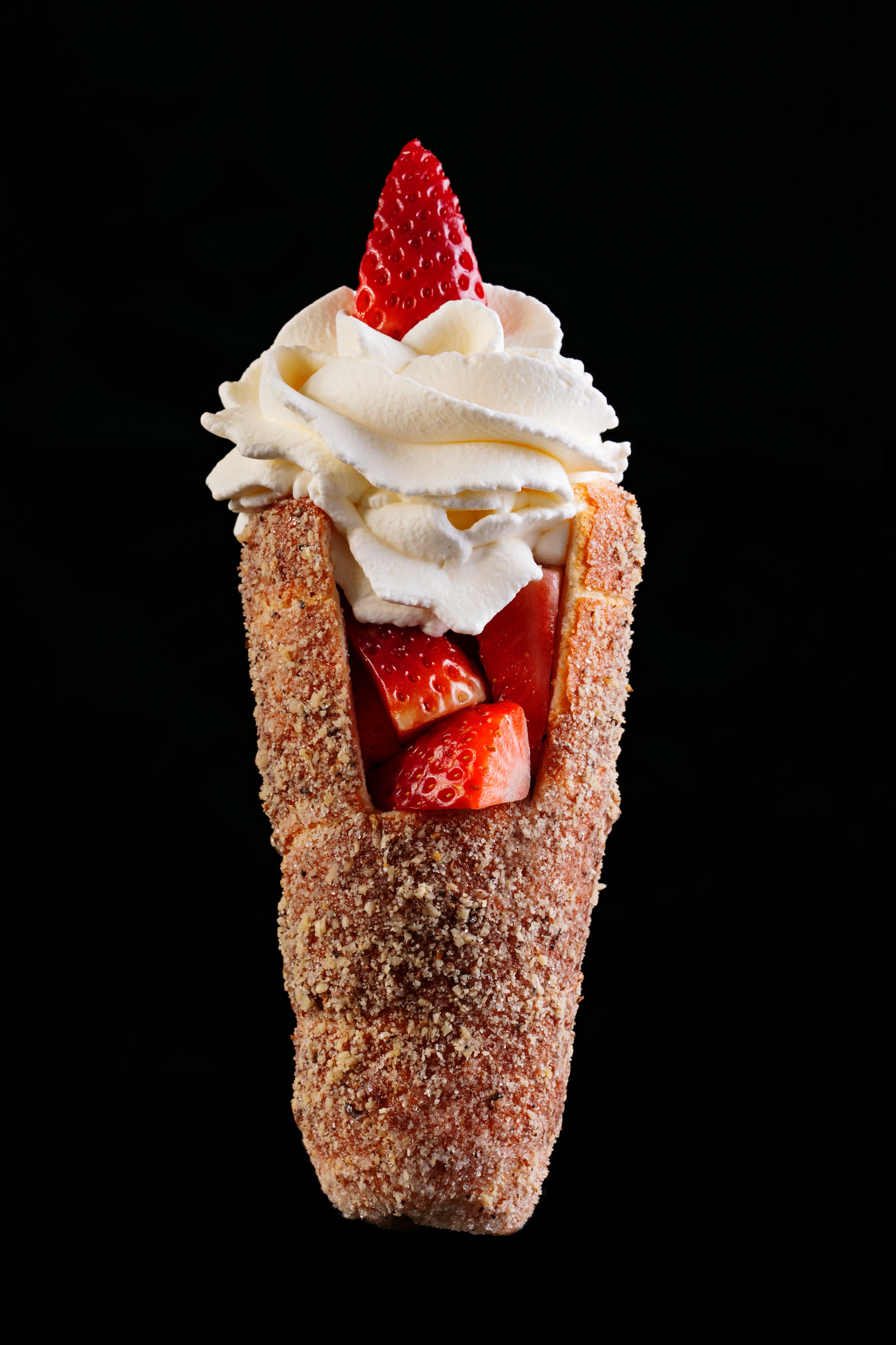 Homemade Mint Ice Cream Cake