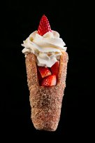 Chimney Cream – with whipped cream and strawberry